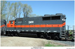 DMV&W GP35 324 (Robert W. Thomson) Tags: railroad train diesel railway trains northdakota locomotive trainengine washburn emd gp35 dmvw dakotamissourivalleywestern