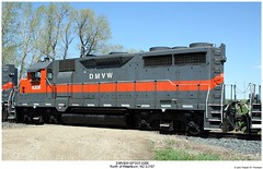 DMV&W GP35R 6306 (Robert W. Thomson) Tags: railroad train diesel railway trains northdakota locomotive trainengine washburn emd gp35 dmvw dakotamissourivalleywestern gp35r