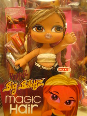Bratz (rick) Tags: hair toy doll magic target yasmin 2007 bratz colma streaker bigbabyz