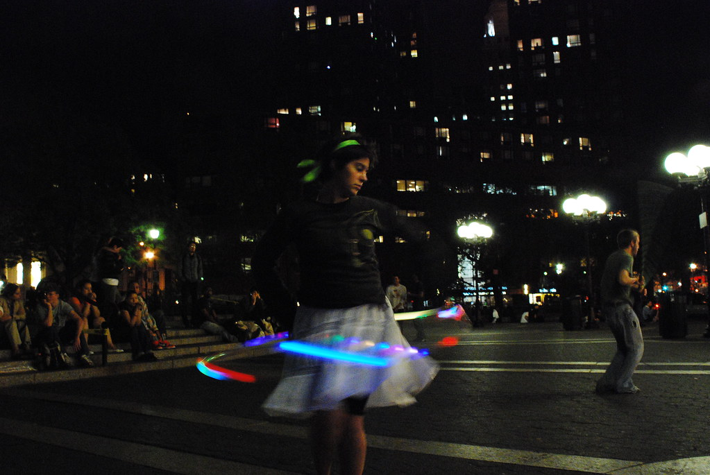 Hula Hoops in Union Square