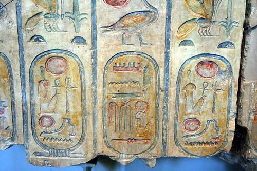 2006_0610_103910AA Koningslijst uit Abydos,tempel Ramses2,BM Londen por Hans Ollermann.