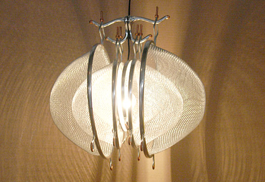 strainer lamp bklyn designs