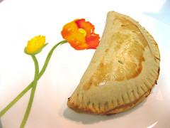 Corn and Cheese Empanada (snduda) Tags: food cooking empanada