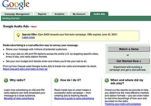 Google Audio Ads Now Live