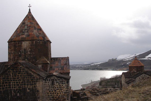 Armenia - Lake Sevan monastery view