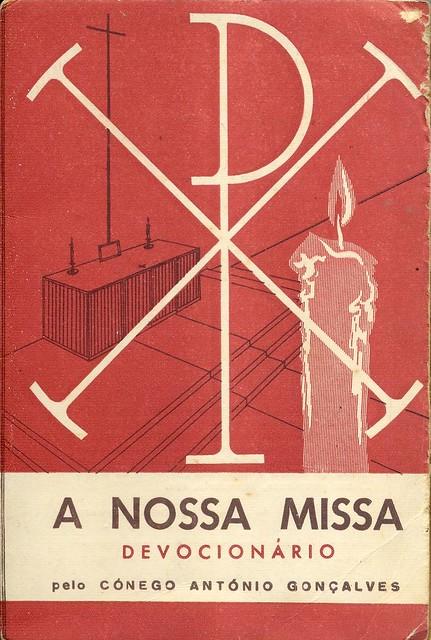 Júlio Neuparth, A Nossa Missa, book cover, 1954