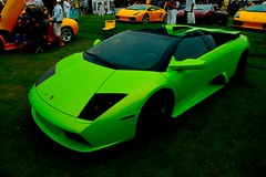 Green Murcielago (j.hietter) Tags: auto california green art electric digital monterey nikon neon european d70 exotic website lime lamborghini supercar 1870mm italiano roadster murcielago concorso