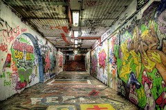 Graffiti Tunnel HDR