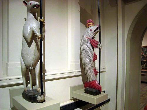 Fish and Sheep Rampant