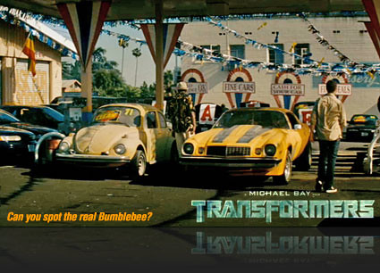 Transformers the Movie Bumblebee