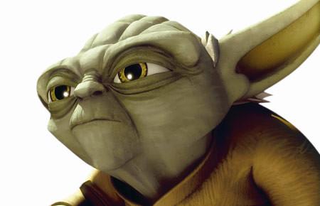 Yoda CGI en Las Guerras clónicas