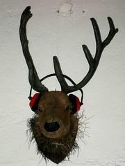 deerphones (spanier) Tags: red party animal club hamburg deer bunker headphones rave earphones antler gefhrlich uebel uebelgefhrlich uebelundgefhrlich