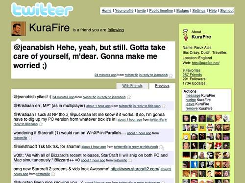 Faruk's Twitter Stream