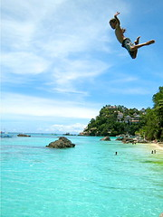 Aerial Ballet - Boracay (p@ragon) Tags: ballet beach island dance jump paradise philippines dive aerial boracay ih paragon jumpshot diniwid summer2007 superaplus aplusphoto superbmasterpiece beyondexcellence diamondclassphotographer flickrdiamond diniwidbeach northernboracay boracaywestcoast