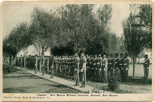 Postcard: Cadets, Roswell NM