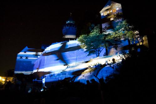Blaue Nacht Nürnberg - Burg