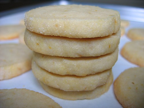 alpineberry: Meyer Lemon Butter Cookies