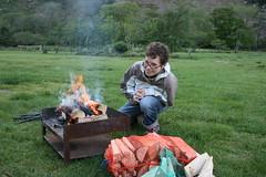 I made this campfire