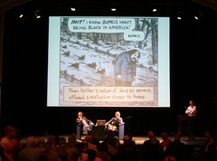 Art Spiegelman and Michael Kimmelman