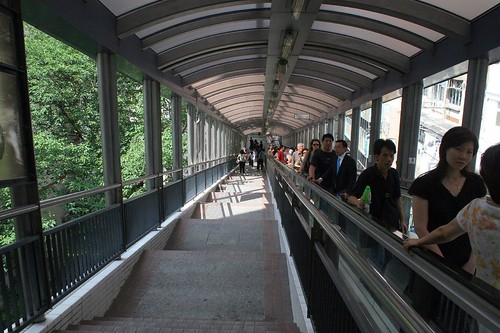 Inside the Never Ending Escalator