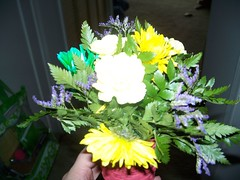 Flowers from a student