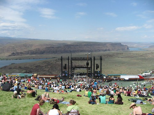 Arriving at Sasquatch