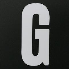 letter G (Leo Reynolds) Tags: canon eos g letter f5 oneletter iso1600 ggg 30d 33mm 0ev hpexif 0017sec groupiao grouponeletter letterwhite xsquarex xratio11x xleol30x