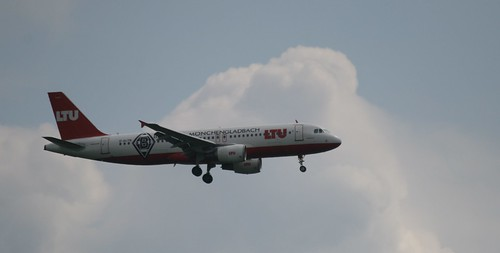 LTU Airbus A320 - 200 Borussia Mönchengladbach