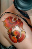 my new tattoo my Phoenix...finally! totally