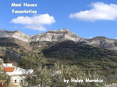 Fanariotisa Mountain, Moni Naxos