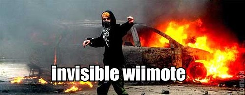 invisible wiimote