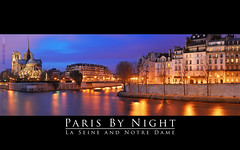 Paris by night: La Seine and Notre Dame (David Giral | davidgiralphoto.com) Tags: city bridge blue sky chien david paris france seine night port river de hotel evening la hall nikon december cloudy dusk acadmie hour pont entre loup bluehour capitale d200 saintlouis et quai ville heure orlans parisienne tournelle rgion parisien giral rives magique nikond200 18200mmf3556gvr entrechienetloup outstandingshots copyrightdgiral davidgiral bestofr