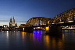 Cologne (sequentialogic) Tags: cologne köln bridge hohenzollernbridge kölnerdom colognecathedral cathedral rhine