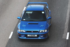 Subaru,  Impreza, 22B, STi, Causeway Bay, Hong Kong (Daryl Chapman Photography) Tags: hv8988 pan panning japanese 1d mkiv 22b car cars auto autos automobile canon eos is ii 70200l f28 road engine power nice wheels rims hongkong china sar drive drivers driving fast grip photoshop cs6 windows darylchapman automotive photography hk hkg bhp horsepower brakes gas fuel petrol topgear headlights worldcars daryl chapman darylchapmanphotography subaru cwb causewaybay