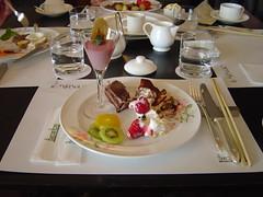 Dessert at the Hakone Hotel (jpellgen) Tags: japan fruit dessert japanese hotel strawberry asia  tiramisu nippon buffet kanagawa hakone nihon gora mousse shortcake   kantou
