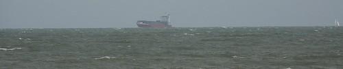 SHIP FAR OUT TO SEA