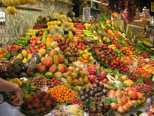 barcelona fruits