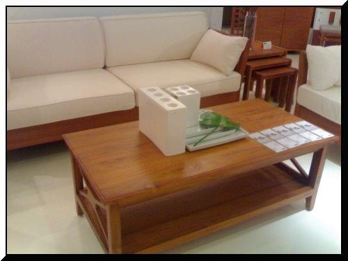 家具-詩肯柚木 茶几-1