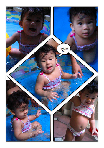 Vanya berenang