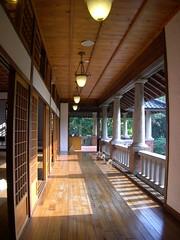 溫泉博物館的走廊