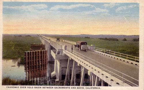 Yolo Causeway circa 1920