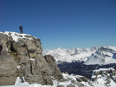 Florian on the summit