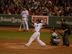 Manny hits first of four straight home run (kazu4313123) Tags: redsox manuel d200 manny ramirez aristides 120300f28