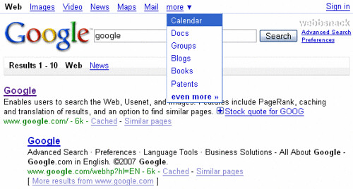 google-test-layout