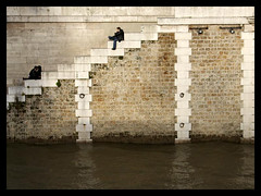 Notre Dame steps - by delarge