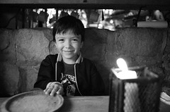 Santi (RoryO'Bryen) Tags: travel family santiago friends portrait blackandwhite white black blanco latinamerica southamerica beautiful smiling branco canon restaurant kid interesting travels colombia noir noiretblanc bogot negro rory stunning mico hermoso santi hermosa nio bianco blanc kolumbien nero pretoebranco menino americas ragazzo amricalatina colombie amriquelatine muchacho amricadelsur eos5d latinoamrica tit obryen andrscarnederes prto roryobryen roarsthelion copyrightroryobryen