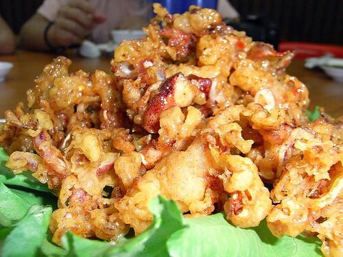 Golden Crispy Squid