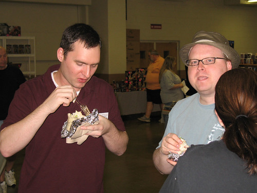 Columbus Toy Show 2007 - The Meisters saved the day and brought us lunch!!!