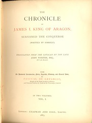 The Chronicle of James I, King of Aragon (1883)