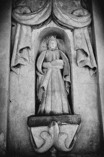 Detail of San Xavier Facade